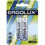 Аккумулятор Ergolux AAA-1100mAh Ni-Mh BL-2 (NHAAA1100BL2, 1.2В)