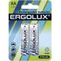 Аккумуляторы Ergolux AA 2700mAh Ni-Mh BL-2 (NHAAA2700BL2, 1.2В)
