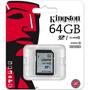 Карта памяти Kingston SDXC Class 10 UHS-I U1 64GB 45 Мб/сек/R