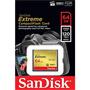 Карта памяти SanDisk 64Gb Extreme Compact Flash 120MB/s