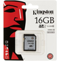 Карта памяти Kingston SDHC Class 10 UHS-I U1 16GB 45 MB/s