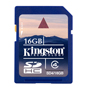 Kingston SDHC 16Gb 4kl
