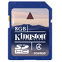Kingston SDHC 8Gb 4kl